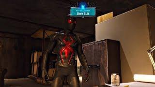 Spider-Man PS4 - Black Cat's Hideout & Secret Black Cat Suit (Spiderman 2018) PS4 Pro