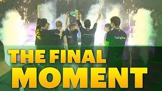 Dota 2 #TI8 The Final Moment - OG vs PSG.LGD GRAND FINAL