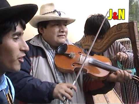 Negritos de Pomabamba en la fiesta de Vilcabamba febrero 2011