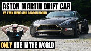 ASTON MARTIN DRIFT CAR   TWIN-TURBO V8 VANTAGE