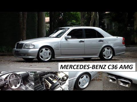 Garagem do Bellote TV: Mercedes-Benz C36 AMG
