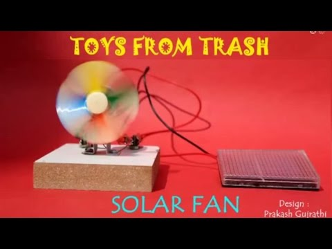 Solar Fan | Gujarati | Fun with Solar Energy