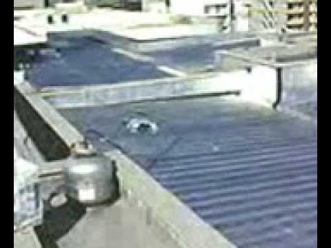Cobertura de telha de zinco