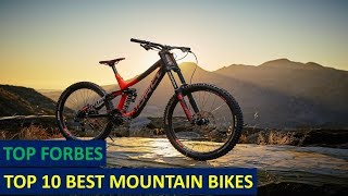 Top 10 Best Mountain Bikes for Your Money in 2017