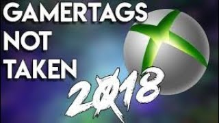 OG GAMERTAGS NOT TAKEN *2019* PART 3 - XBOX/PLAYSTATION With Proof!