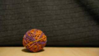 Rubber Band Balls Animation