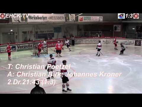 ESC Dorfen vs EHC Klostersee (07.09.2014) Vorbereitungsspiel