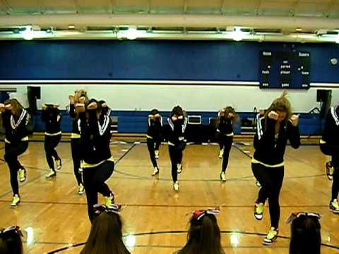 Sacred Heart Academy Dance Team 2009-2010