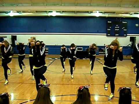 Sacred Heart Academy Dance Team 2009-2010