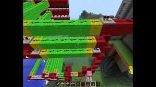 Minecraft Tutorial: How to Make a Working Castle Gate Revision