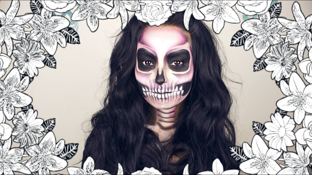 HALLOWEEN MAKEUP  SWEET DEATH  YouTube - Sweet Halloween Makeup