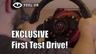 FeelVR Direct Drive Wheel - EXCLUSIVE First Test Drive