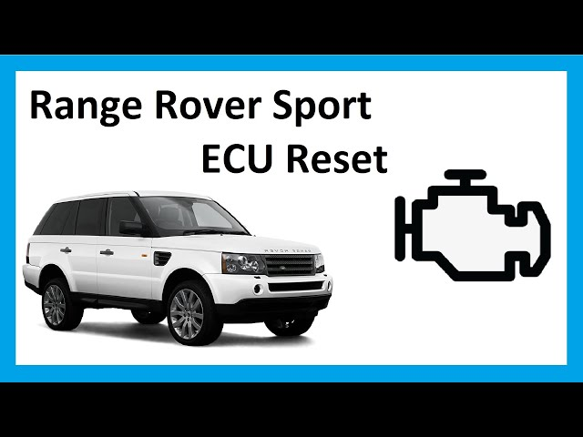 How to do an ECU reset on Range Rover Sport 2005 - YouTube