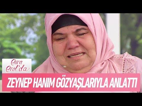 Zeynep hanım gözyaşlarıyla anlattı - Esra Erol'da 8 Kasım 2017