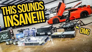 My Fast & Furious Lamborghini's New Sound System BLEW MY MIND! (INSANE BASS ALERT)