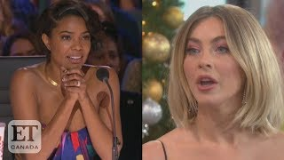 Julianne Hough Reacts To Gabrielle Union's 'AGT' Controversy