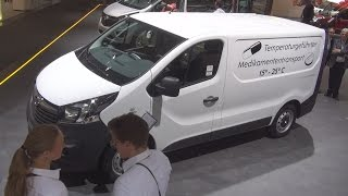 Opel Vivaro Panel Van L1H1 1.4 BiTurbo CDTI ecoFlex Exterior and Interior in 3D 4K UHD