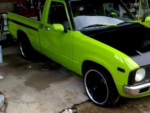 Pick Up Toyota 22r >> toyota 79 pick up en restauracion alason - YouTube