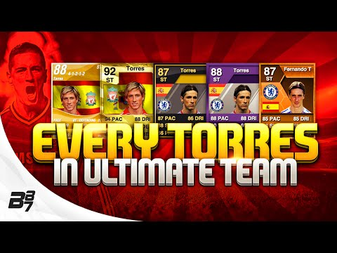 EVERY FERNANDO TORRES CARD ON FIFA ULTIMATE TEAM!
