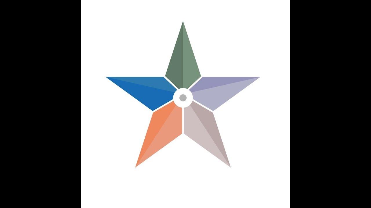 star logo tutorial adobe illustrator cs6 youtube