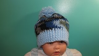 Download Easy tunisian crochet baby's hat - with Ruby Stedman 3Gp Mp4