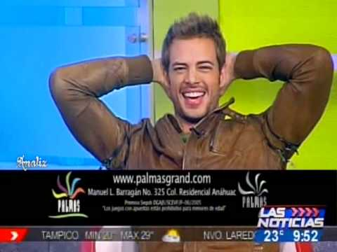 William Levy en Las Noticias Monterrey 24.02.2011. - Gracias a Analiz