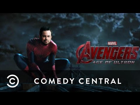 Danny Dyer Plays Spiderman In Avengers Trailer | Comedy Central