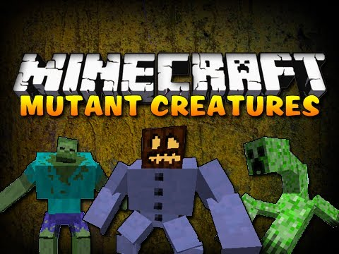 Minecraft Mod Showcase - MUTANT CREATURES MOD!