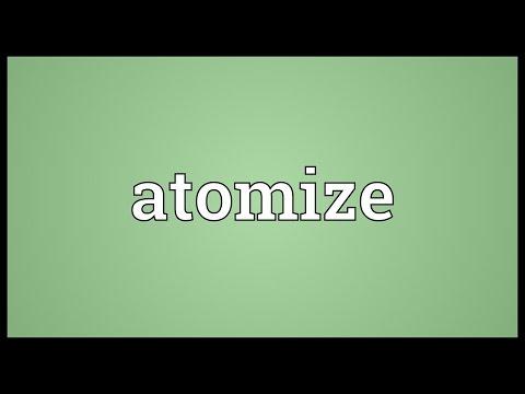 Header of atomize