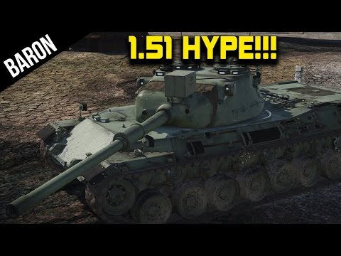 War Thunder 1.51 - Leopard A1, New Snow Map, Neubaufahrzeug Multi Turret Tank!