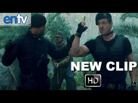 "The Expendables 2 ""Loaded"" Clip [HD]: Liam Hemsworth Saves Sylvester Stallone & Jason Statham"