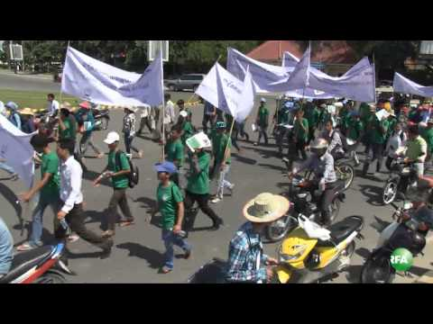 Cambodian Youth Fills a Request to National Assembly & Government