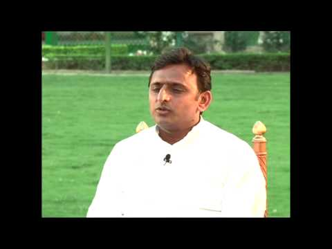 Exclusive interview with Uttar Pradesh CM Akhilesh Yadav-Part 1