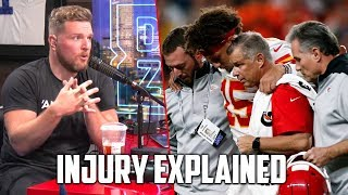Pat McAfee Explains Patrick Mahomes Knee Injury