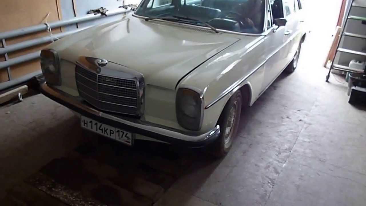 1969 mercedes benz 230 6 w114 engine start part 2 for 1969 mercedes benz parts