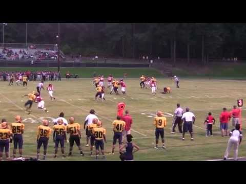 Rocky Mount High School Gryphons Football - Game Highlights vs. J. F. Webb - 8/29/14