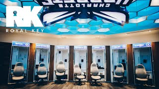 We Toured the Charlotte Hornets' Sneaker Filled Facility | Royal Key