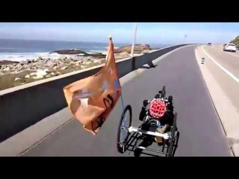 Club iFIT en Handbike por el carril bici Baiona - A Guarda