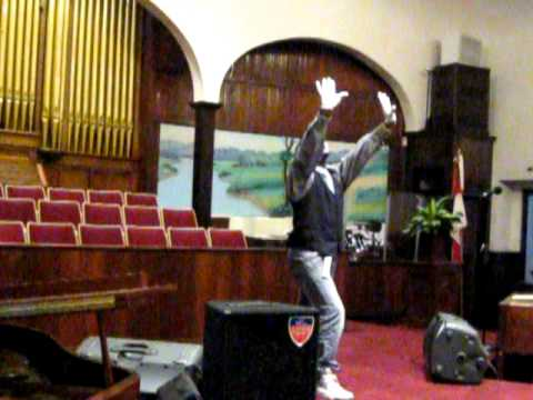 Soflysoblessed (p.shaw) Mime-  chasing After You Tye Tribbett video