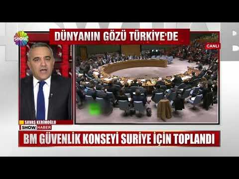 BM Güvenlik Konseyi Suriye için toplandı