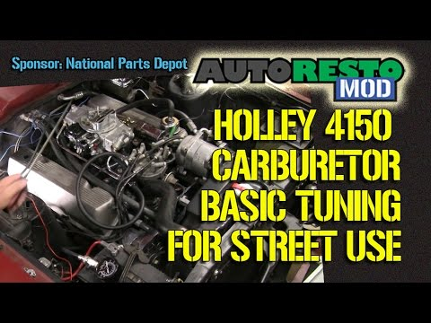 Holley Street Avenger 4150 Carburetor Basic Tuning Guide Episode 219 Autorestomod