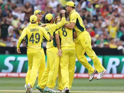 Cricket World Cup Australia posts a convincing 111 run win over England at the MCG a report