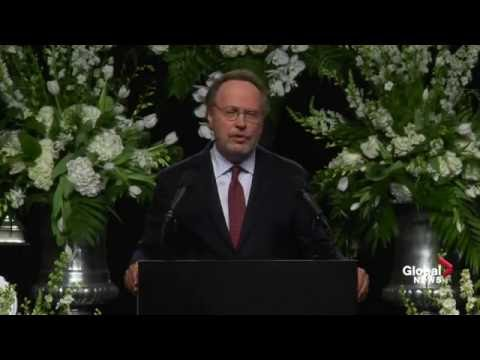 Comedian Billy Crystal delivers funny and touching eulogy for Muhammad Ali