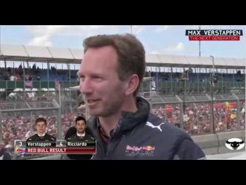 Christian Horner on Max Verstappen post race BritishGP