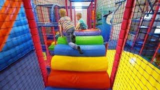 Indoor Playground Fun for Kids at Stella's Lekland (like Busfabriken)