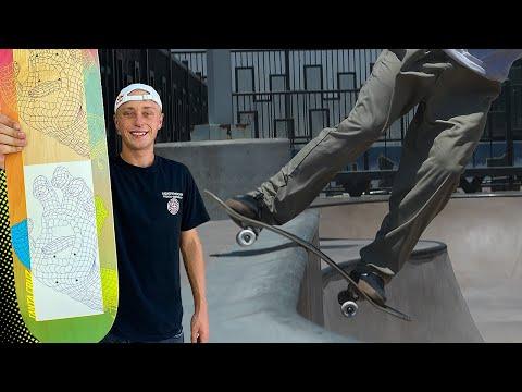 JAKE WOOTEN PUTS STRONGEST SKATEBOARD TO THE TEST! | Santa Cruz Skateboards