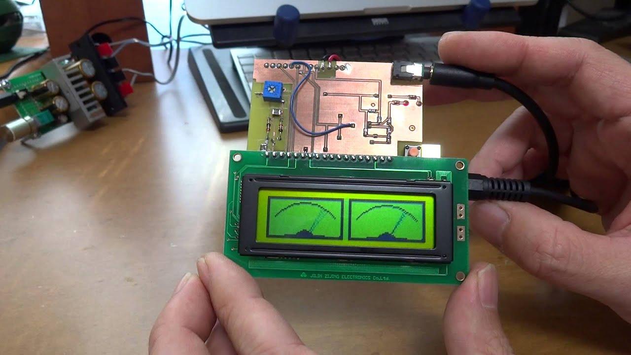Lcd Audio Vu Meter As A Shield Of Arduino Youtube