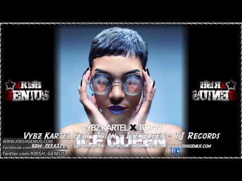 Vybz Kartel Ft. Toian – Ice Queen – September 2014   Reggae, Dancehall, Bashment