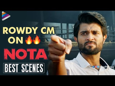 Nota Telugu Movie Back to Back BEST Scenes | Vijay Deverakonda | Mehreen | 2018 Latest Telugu Movies