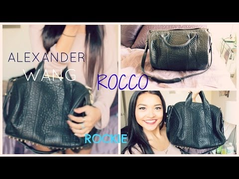 Alexander Wang Rocco Bag Review  Comparison To The Rockie    Nicole Elise